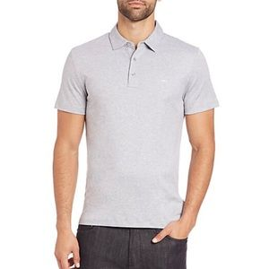 Michael Kors Men's Grey Polo